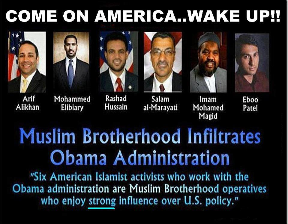 Obamove Muslim Brotherhood
