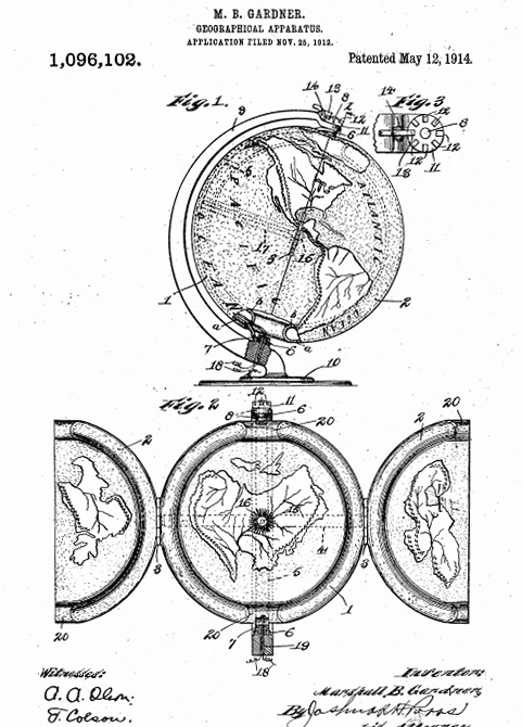 United States Patent 1096102: The Hollow Earth Theory